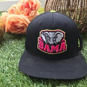 Other - Bama Neon Pink and Green Snapback Trucker Hat